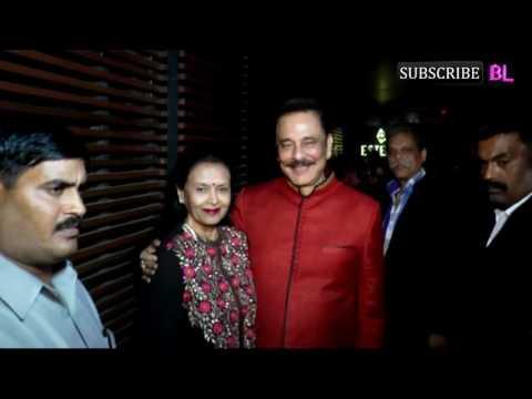 Businessman Subrata Roy Host Grand Dinner Party For Yuvraj Singh & Hazel Keech