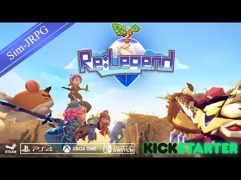 Re:Legend Kickstarter Trailer