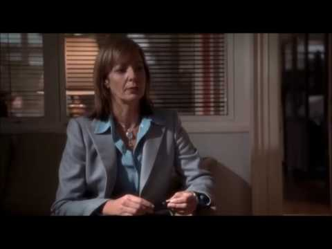 The West Wing S06E10: C.J. Cregg on relationships