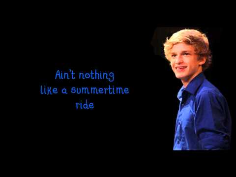 Cody Simpson - Summertime Lyrics Video