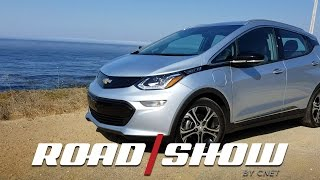 Chevy Bolt range test on California