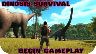 Dinosis Survival - Begin Gameplay PC STEAM HD