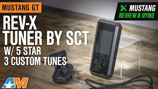 2005-2010 Mustang GT Rev-X Tuner by SCT w/ 5 Star 3 Custom Tunes Review & Dyno