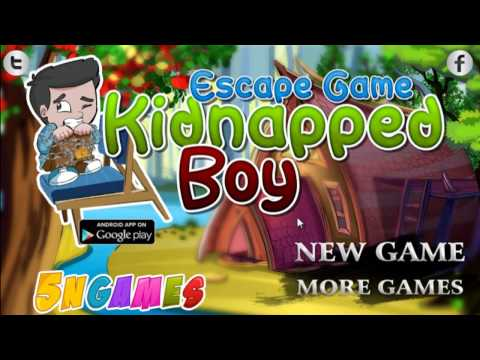 Escape Game Kidnapped Boy Walkthrough - 5ngames  