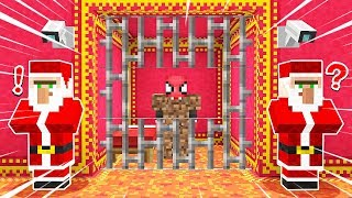 FAKİR TEHLİKELİ NOEL HAPİSHANESİNDEN KAÇIYOR! 😱 - Minecraft