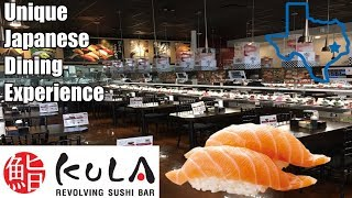 Unique Japanese Dining Experience @ Kura Revolving Sushi Bar ( Houston Location )