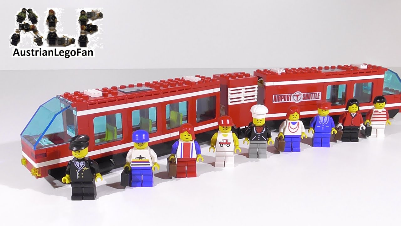 How To Build A Lego Airport Bus