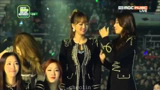 [1080p] 씨스타(컷) - (121214 2012 멜론 뮤직 어워드) @ Melon Music Awards