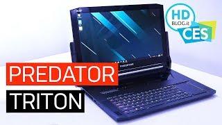 Acer Predator Triton 900, convertibile per gaming da 4.000 dollari | CES 2019