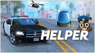 Скачать ТОПОВЫЙ ПЛАГИН ДЛЯ ПОЛИЦЕЙСКИХ В SAMP Police Helper