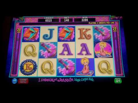 free i of jeannie slot machine