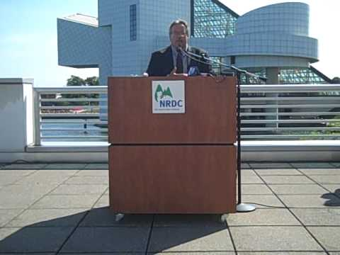 "NRDC ""Testing the waters"" press conference, full video with NEORSD"