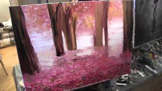 И Сахаров, Розовый мотив. Урок живописи маслом