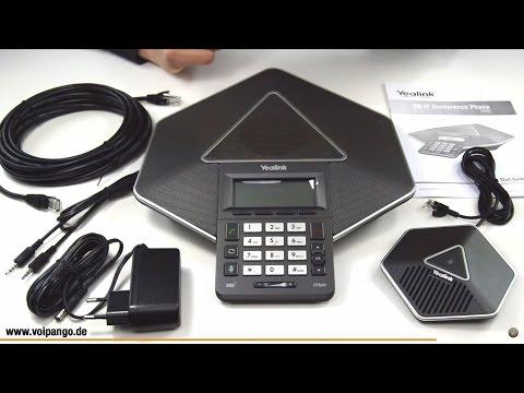 Yealink CP860 IP Konferenztelefon Review / Unboxing   voipango.de