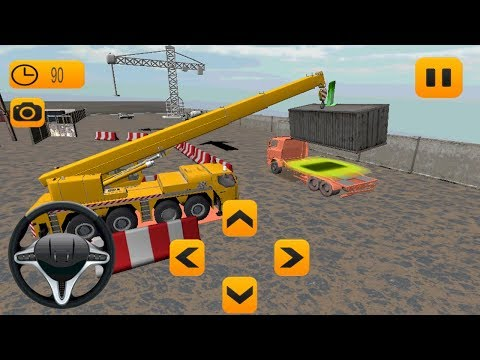 Factory Cargo Crane Simulation (by GP Game Studio) Android Gameplay [HD]