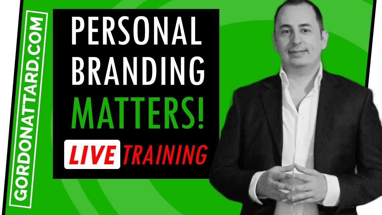 Personal Branding MATTERS!