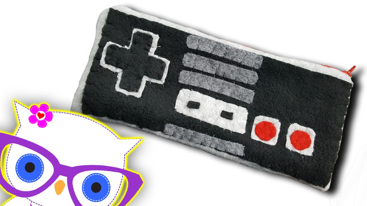 DIY NES Controller Pouch - YouTube