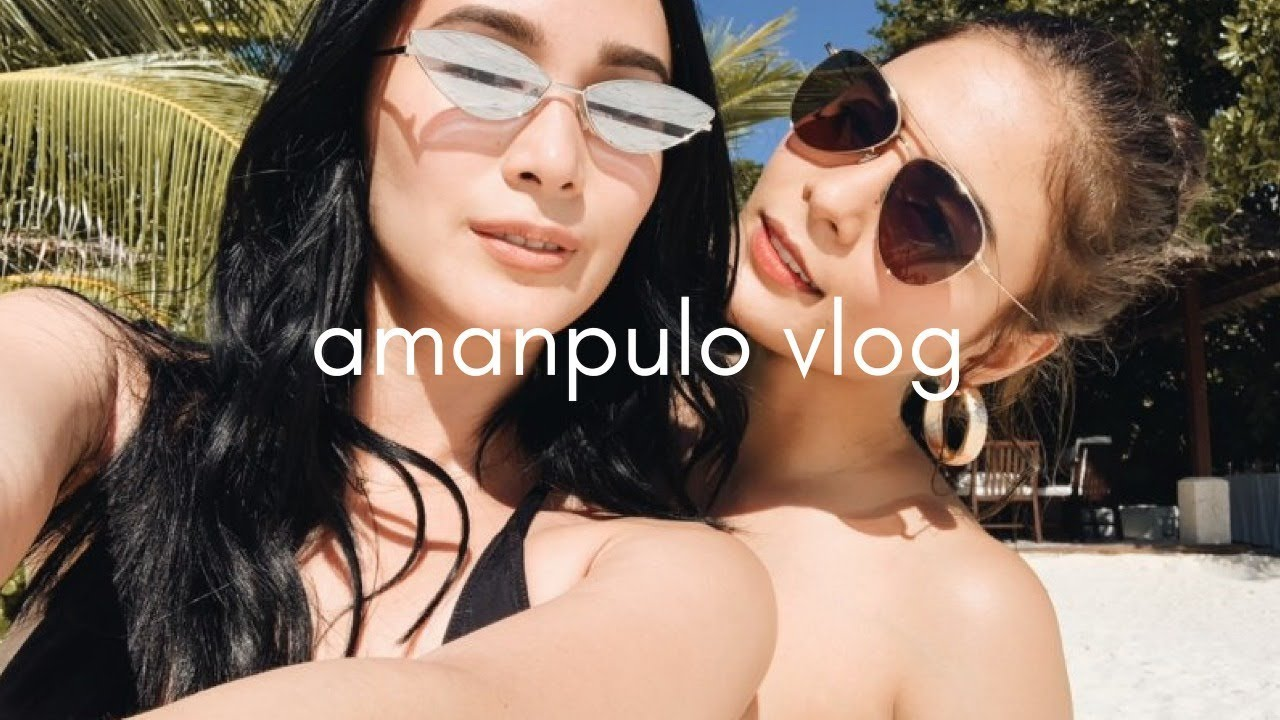 AMANPULO TRAVEL VLOG WITH LOVI POE  | Heart Evangelista