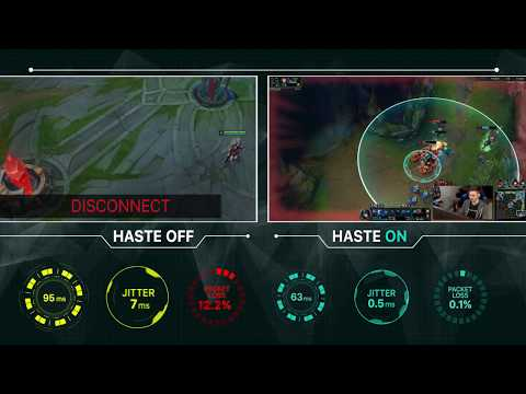Haste - Reduce Lag, Ping and Jitter in gaming  Get Tools for Gamers