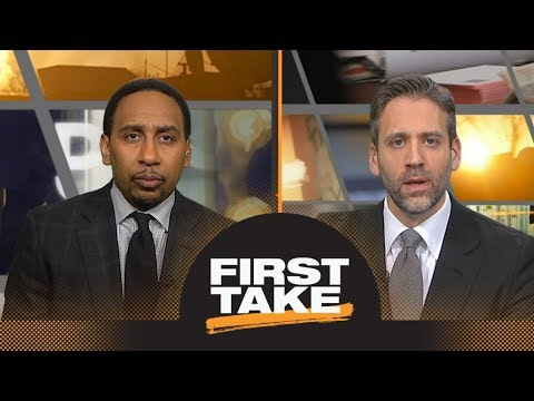 Max asks Stephen A. if Kevin Durant's 'weak' move to Warriors was the right one | First Take | ESPN