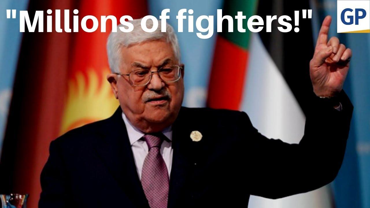 Gateway Pundit Palestinian President vows to invade Jerusalem
