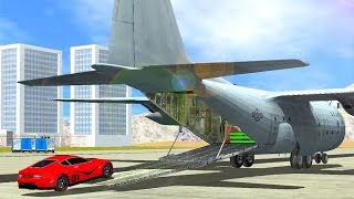 Airplane Pilot Car Transporter - Best Android Gameplay HD screenshot 2