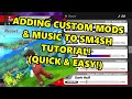 How to Add Custom Mods & Music in Sm4sh! (Tutorial - Easy & Quick!)