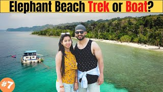 Elephant Beach Havelock | Which is Better Trek or Boat?? Andaman Ep 7