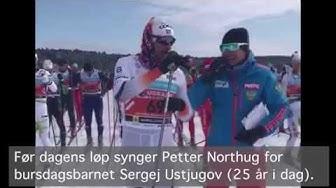 Northug synger for Ustjugov