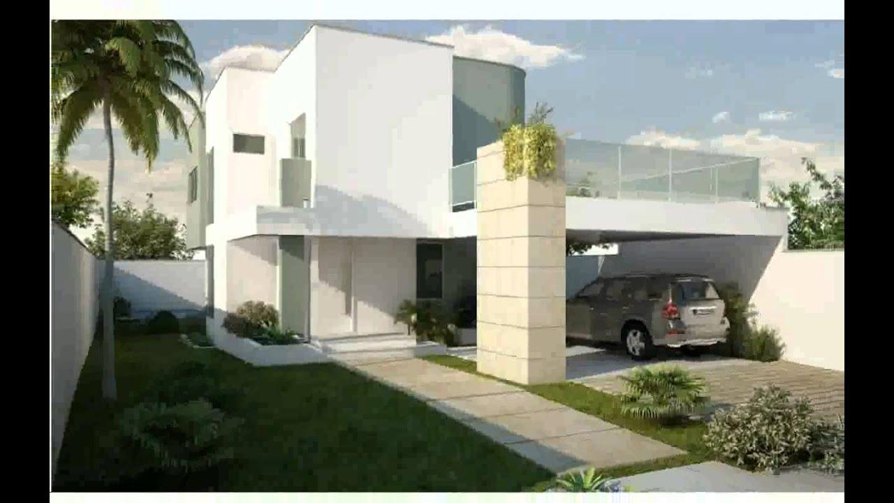 Im genes de fachadas de casas modernas youtube for Fachadas de casas modernas