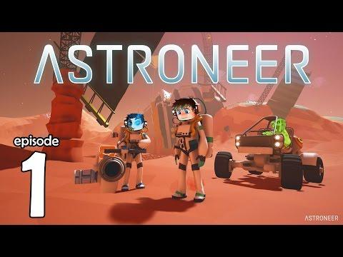 Astroneer Multi #1 - Une nouvelle planète