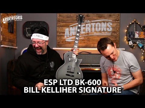 ESP LTD BK600 Demo - Bill Kellihers New Signature Guitar!