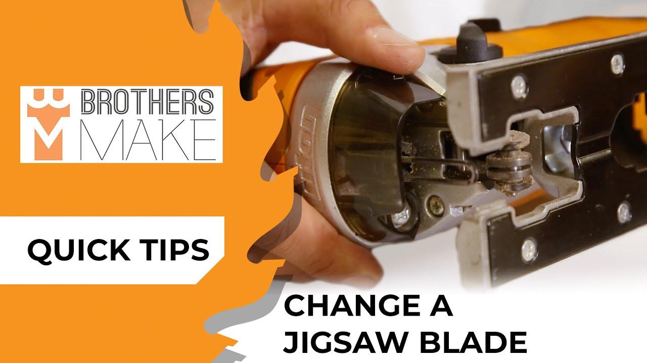How Do I Change A Jigsaw Blade? TJS001  - Triton Quick Tips