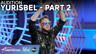 Hips On Fire! Yurisbel Puts Luke Bryan Into A Dance Trance! Part 2! - American Idol 2021