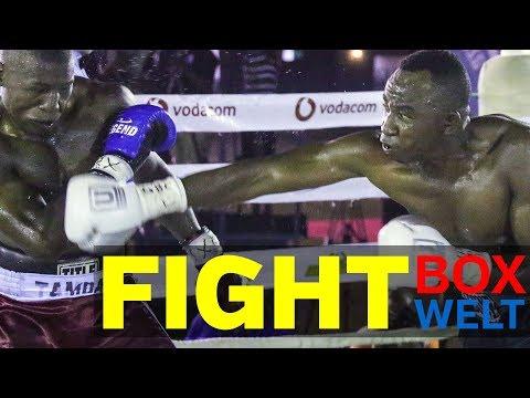 Ibrahim Maokola vs Ibrahim Tamba - 8 rounds super middleweight - 25.11.2017 - Tanzania