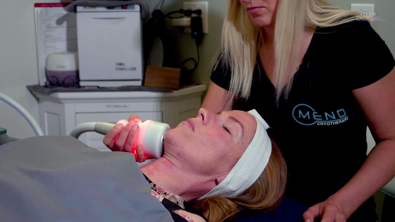 T-Shock Cryotherapy Face Treatment By MEND Cryotherapy