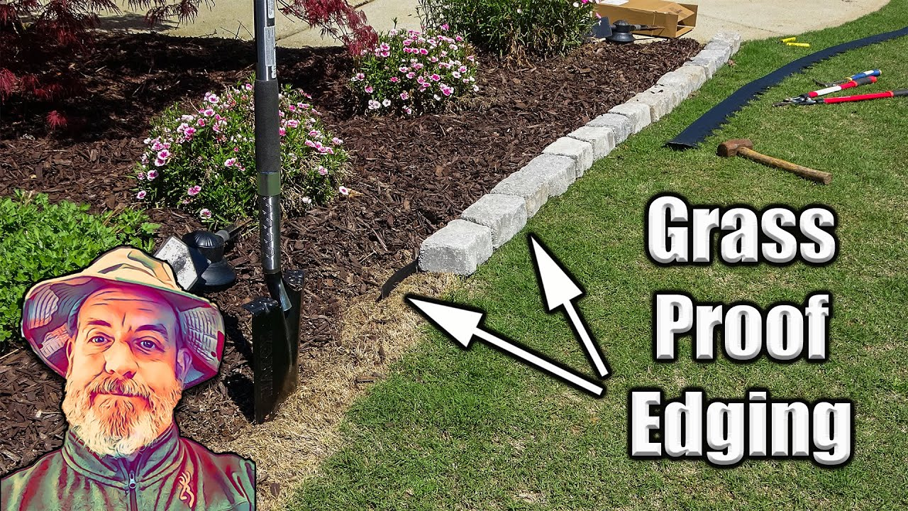 Easy Garden Bed Edging Youtube