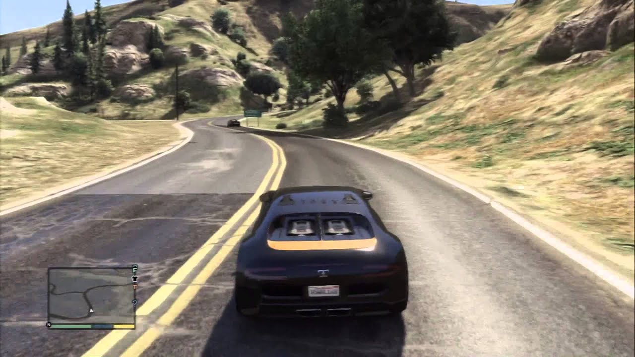 gta 5 truffade adder bugatti veyron location driving. Black Bedroom Furniture Sets. Home Design Ideas