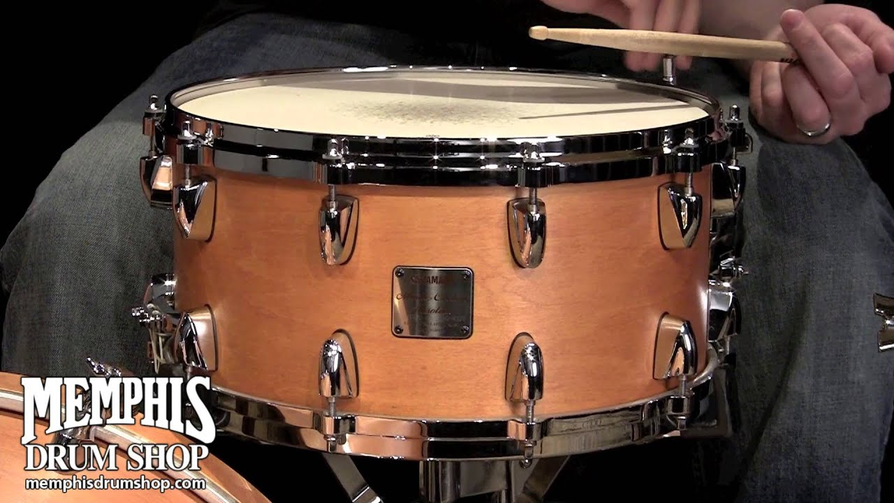 Yamaha Custom Absolute Maple Snare