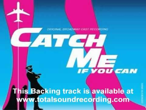 """Jet Set""  from the Broadway Musical ""Catch me if you can"" backing track sample"