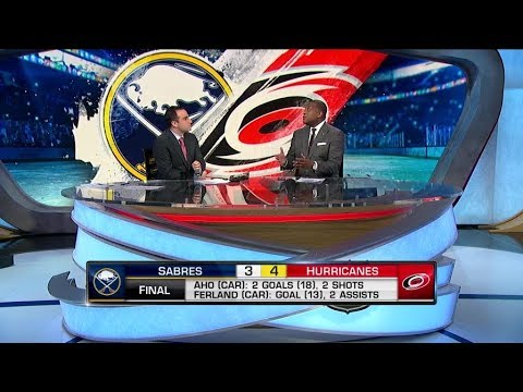 NHL Tonight:  Discussing the key pieces in the Hurricanes victory  Jan 11,  2019