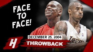 Kobe Bryant vs Shaquille O'Neal FIRST EVER DUEL after SPLIT (2004.12.25) - Shaq's EPIC Return to LA!