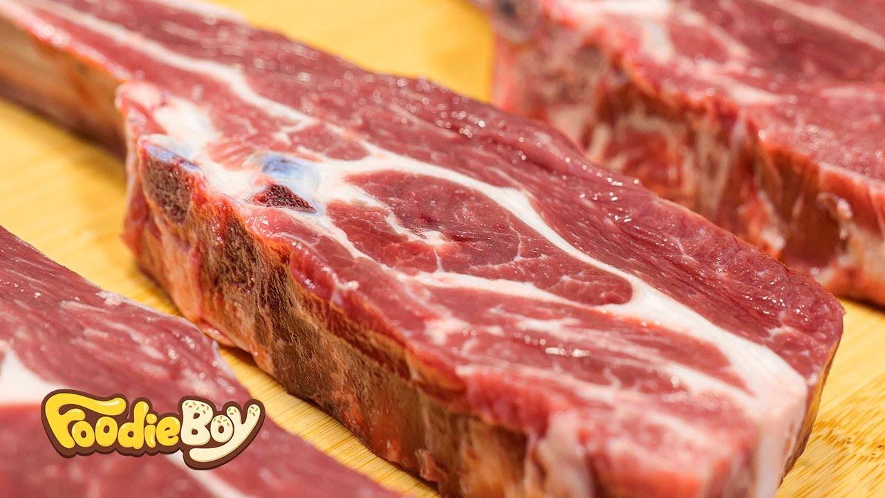 양갈비 구이 / Grilled Lamb Chop - Korean Street Food / 서울 신림동 풍무양꼬치