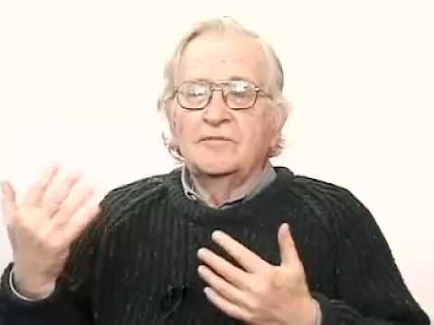 "Chomsky bashing on Neoconservatism ""The neocons are even more extreme"""