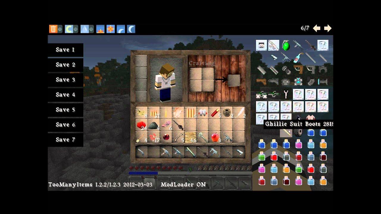 Minecraft Flans/ SDK GUN mod 1.2.3-1.4.7 HD Textures - YouTube
