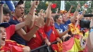 L'Espagne en folie