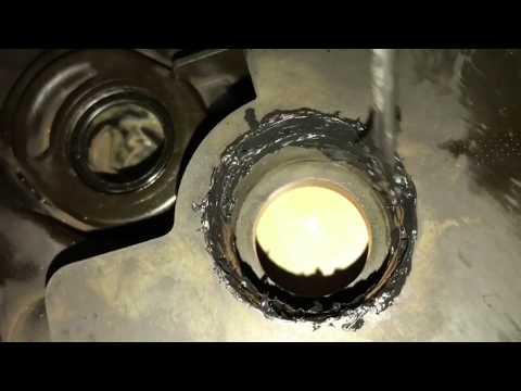 Ремонт крышки клапанов NISSAN SUNNY FNB15 QG15DE