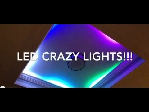 Led Crazy Lights Perfect For Indirect Lighting Youtube