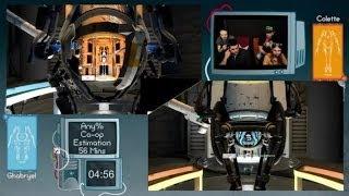 Speed Game - Portal 2 - Défi live en moins de 56 minutes !