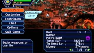 Phantasy Star Online version 2 Dreamcast Sylverant server